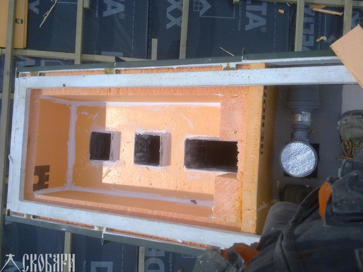 Вентиляционный коллектор для установки вентилятора