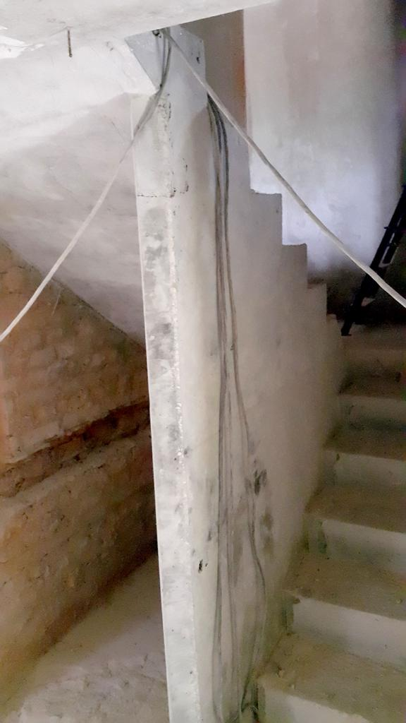 Железобетонная лестница