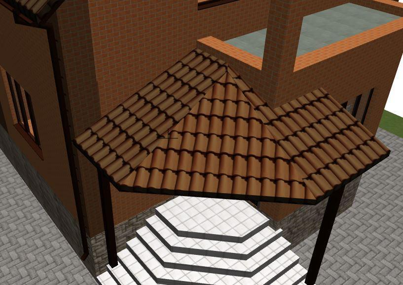 Макет железобетонной лестницы